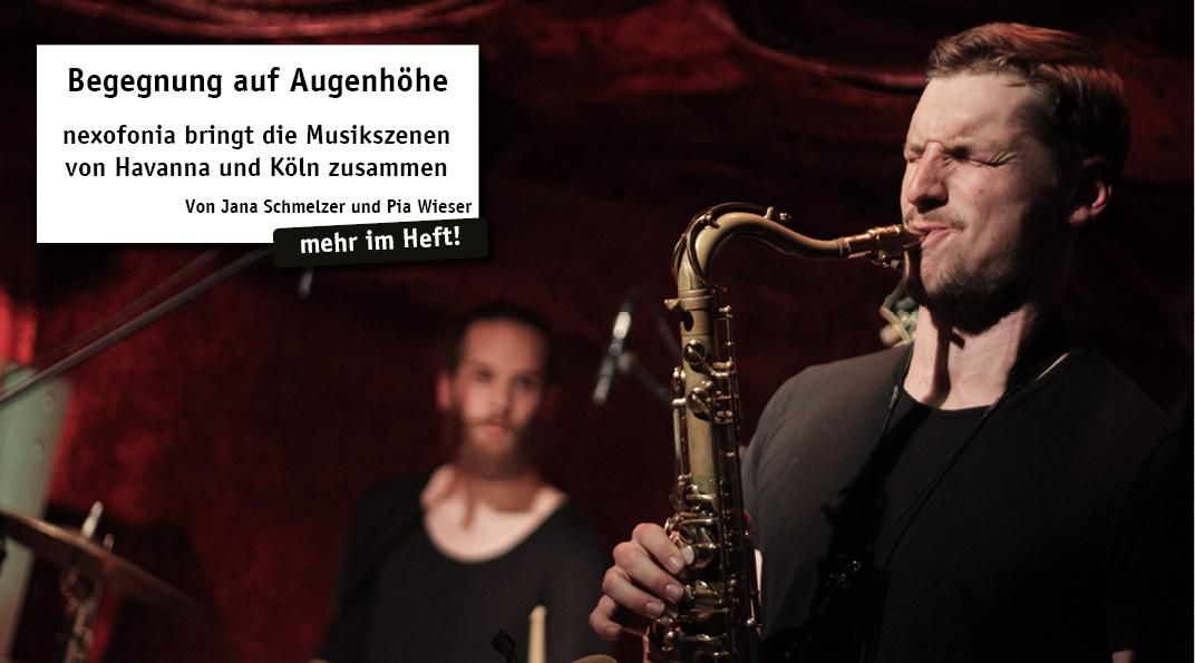Der Verein nexofonia e.V. ist aus einer Forschungsarbeit einer Studentin der Musikwissenschaft an der Universität zu Köln entstanden. Zusammengesetzt aus den Wörtern nexus (lat.: Verbindung) und foní (gr.: Stimme) bedeutet der Name des Vereins...