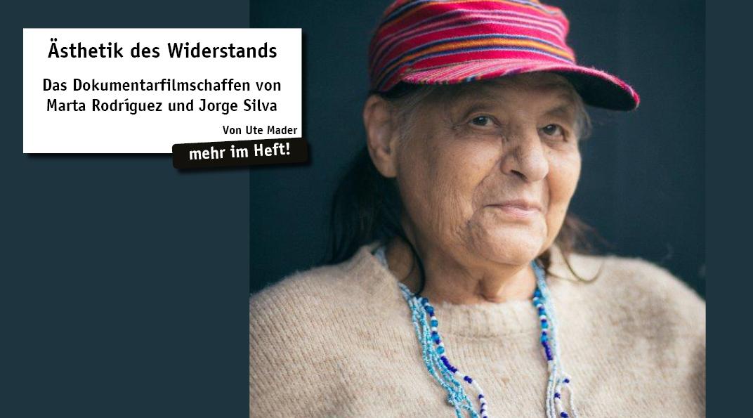 """Das Internationale Filmfestival Innsbruck würdigte im Mai diesen Jahres die große kolumbianische Dokumentarfilmemacherin Marta Rodríguez mit dem Ehrenpreis für ihr Lebenswerk. Eine Retrospektive stellte ihre Filme """"Campesinos"""", """"Chircales"""" ..."""