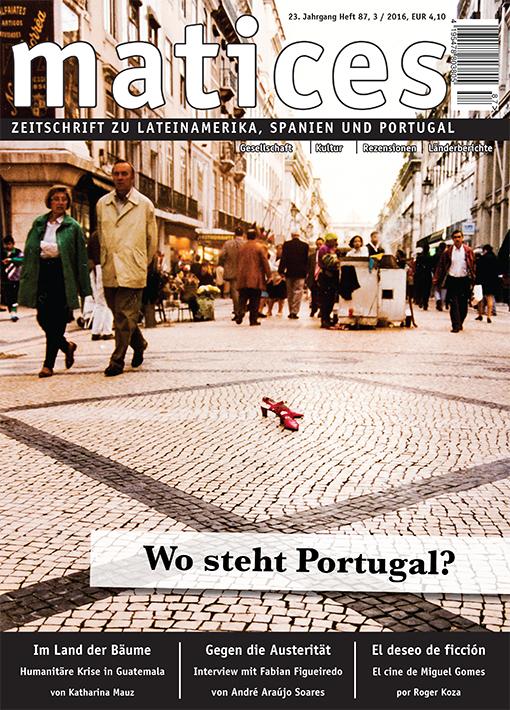Titelbild Ausgabe 87: Wo steht Portugal?