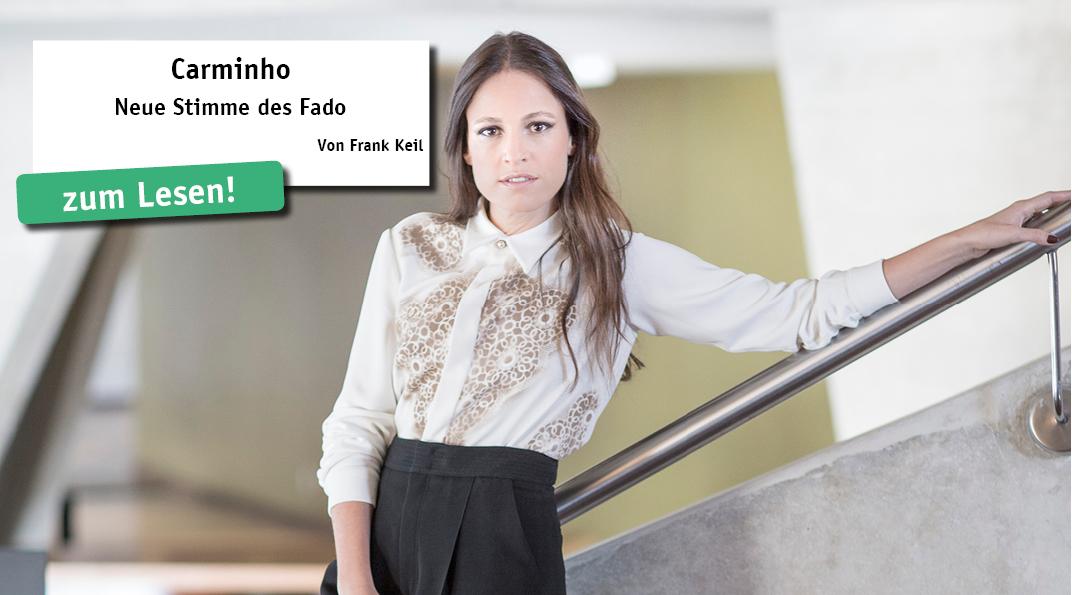 """Der portugiesische Fado hat die 1984 in Lissabon geborene Carminho (Maria do Carmo de Carvalho Rebe- lo de Andrade) bekannt gemacht. Nach ihrem großen Erfolg mit dem Album """"Carminho Canta Tom Jobim"""" (2016), eine zugleich respektvolle..."""