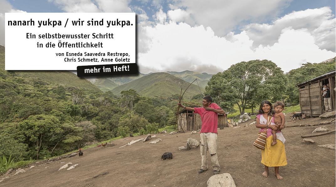 Die Sokorpa-Yukpa leben in der Serranía de Perijá, einem nördlichen Andenausläufer im Grenzgebiet von Kolumbien und Venezuela.