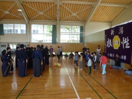 4.27剣道体験教室
