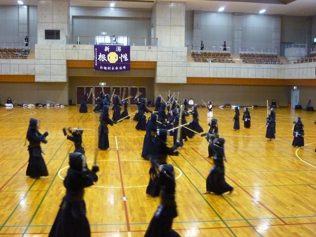 白根剣道連盟 新年初稽古会