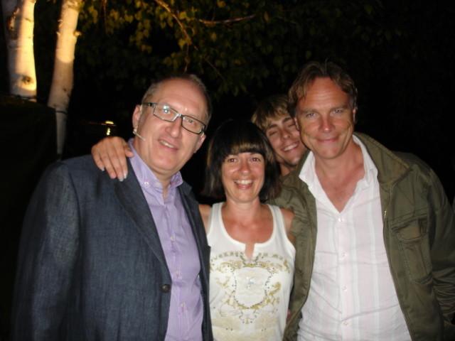 Gerhard, Sandra und Dirk
