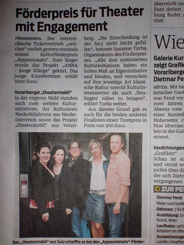 Vorarlberger Nachrichten 30.6.2010