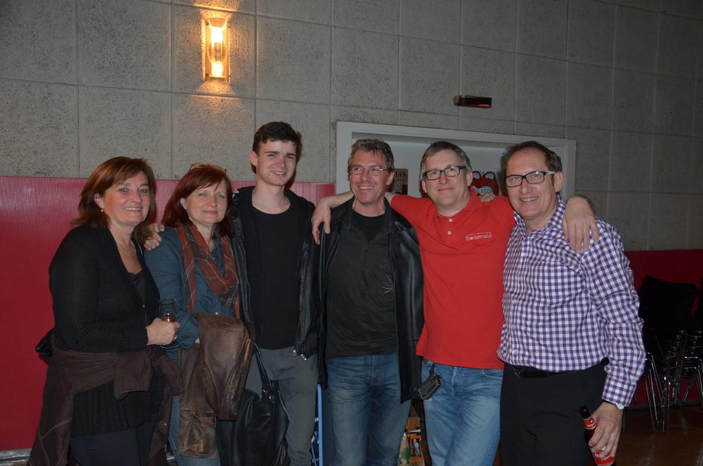 ...mit Angelika, Hildegard, Bernhard und Hansjörg