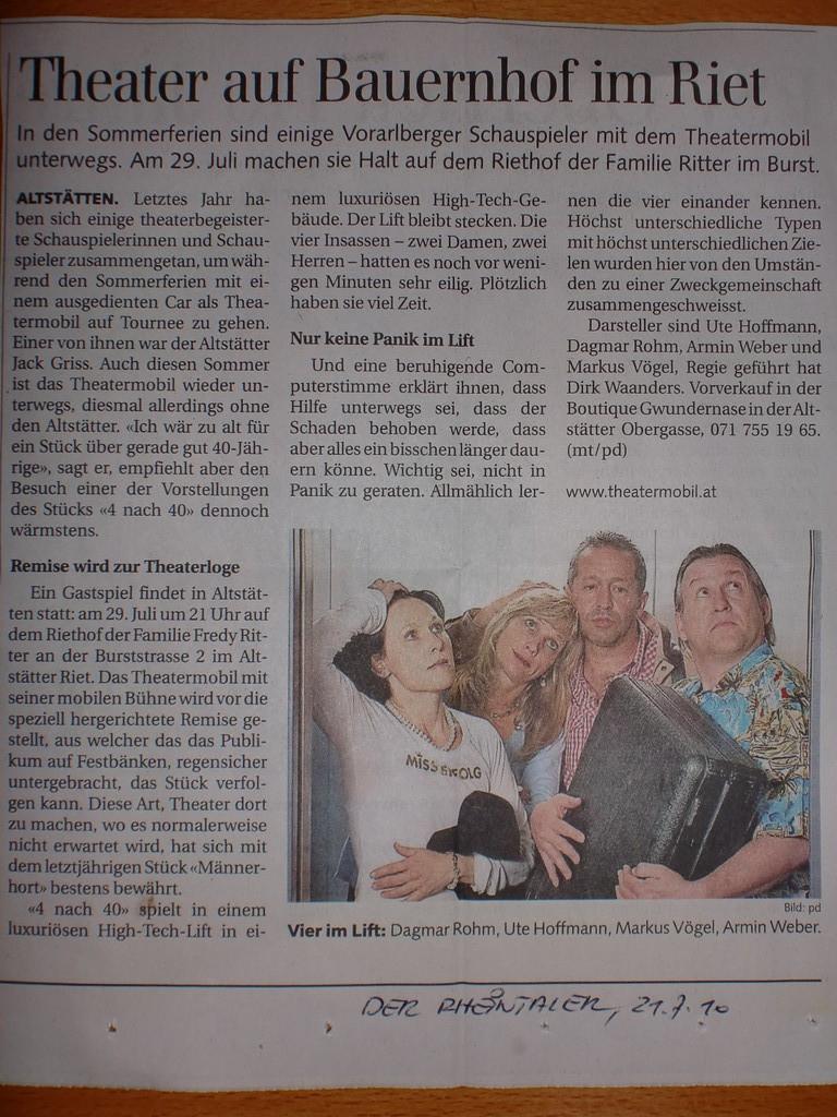 Der Rheintaler, 21.7.2010