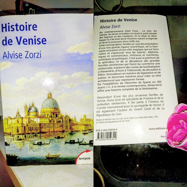 ''Histoire de Venise'' di Alvise Zorzi