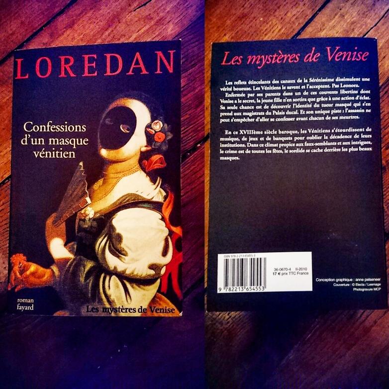 ''Confessions d'un masque vénitien'' di Loredan #T3