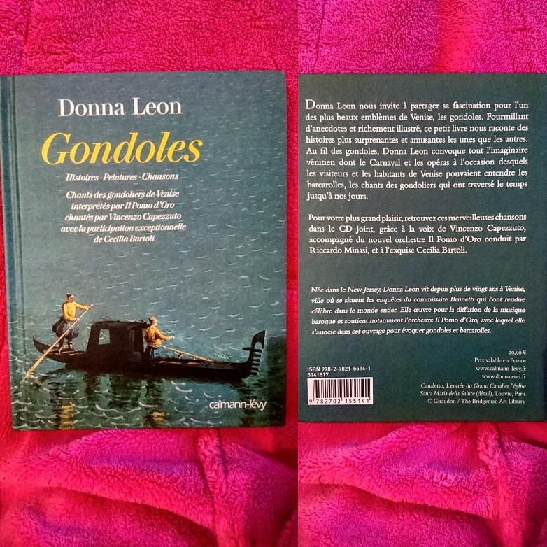 ''Gondoles'' di Donna Leon