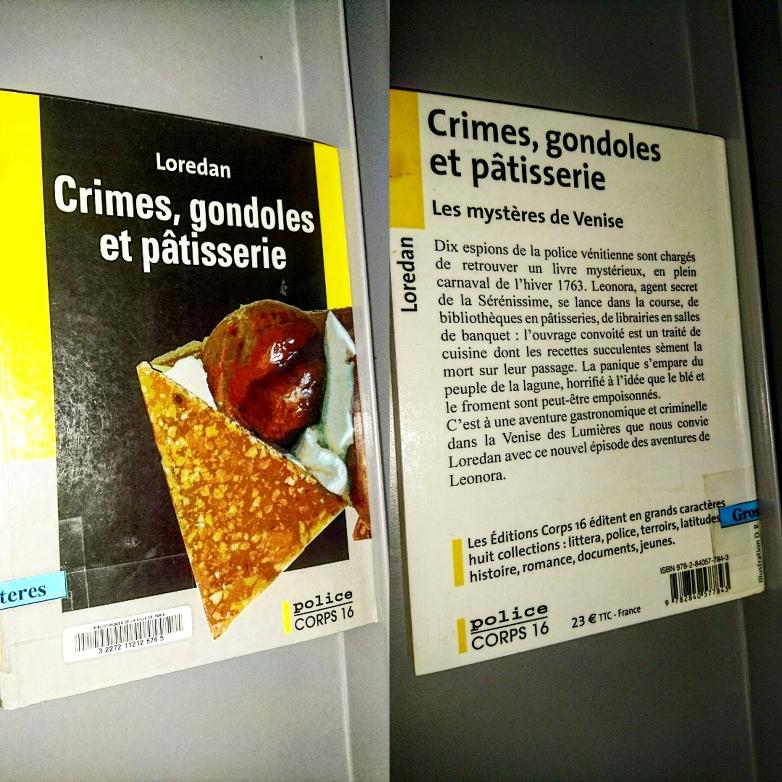 ''Crimes, gondoles et pâtisserie'' di Loredan #T4