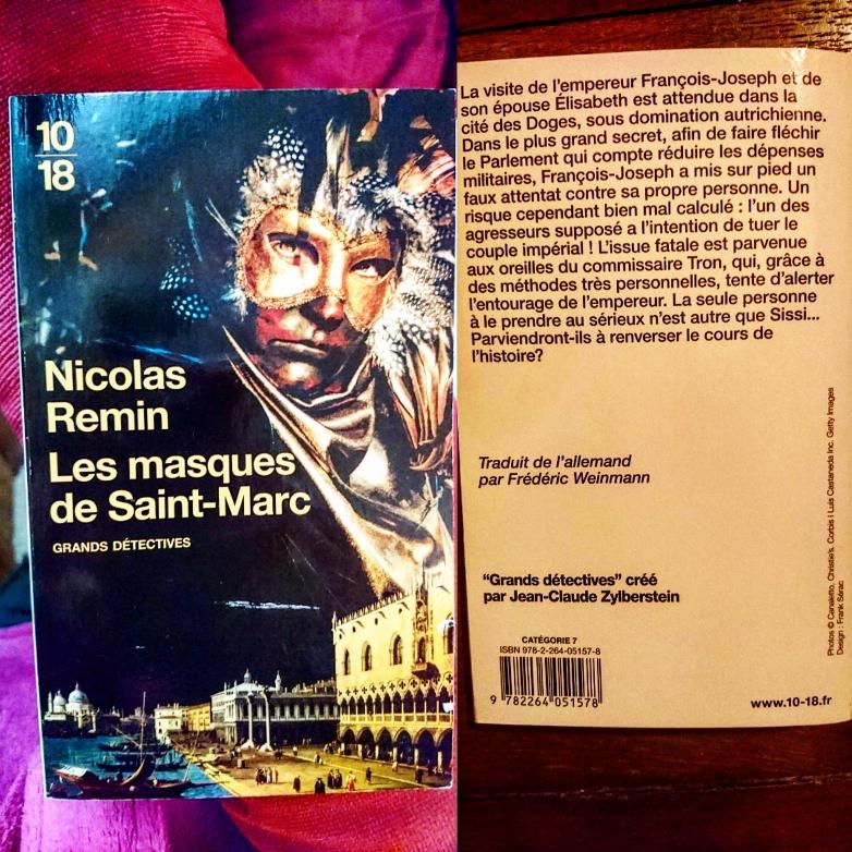 ''Les masques de Saint-Marc'' di Nicolas Remin