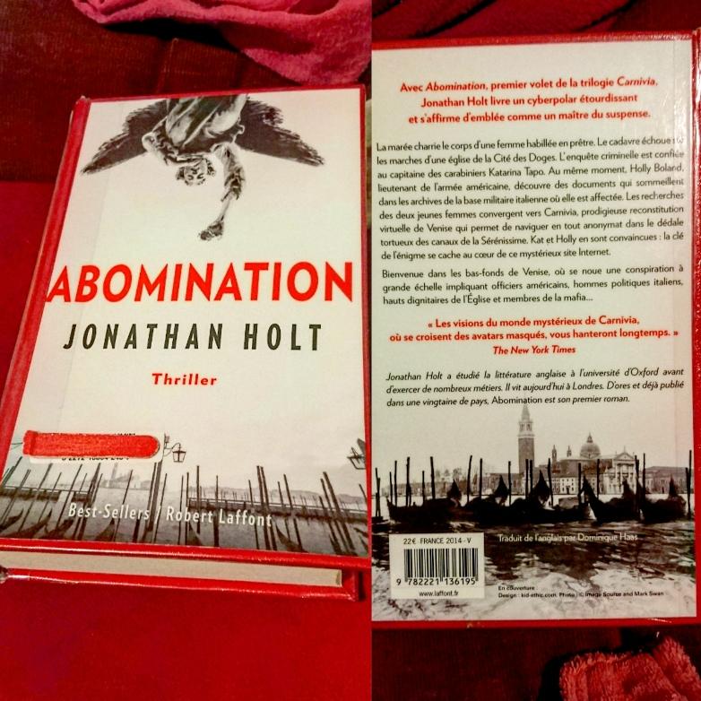 ''ABOMINATION'' di Jonathan Holt (trilogia #1 Carnivia)