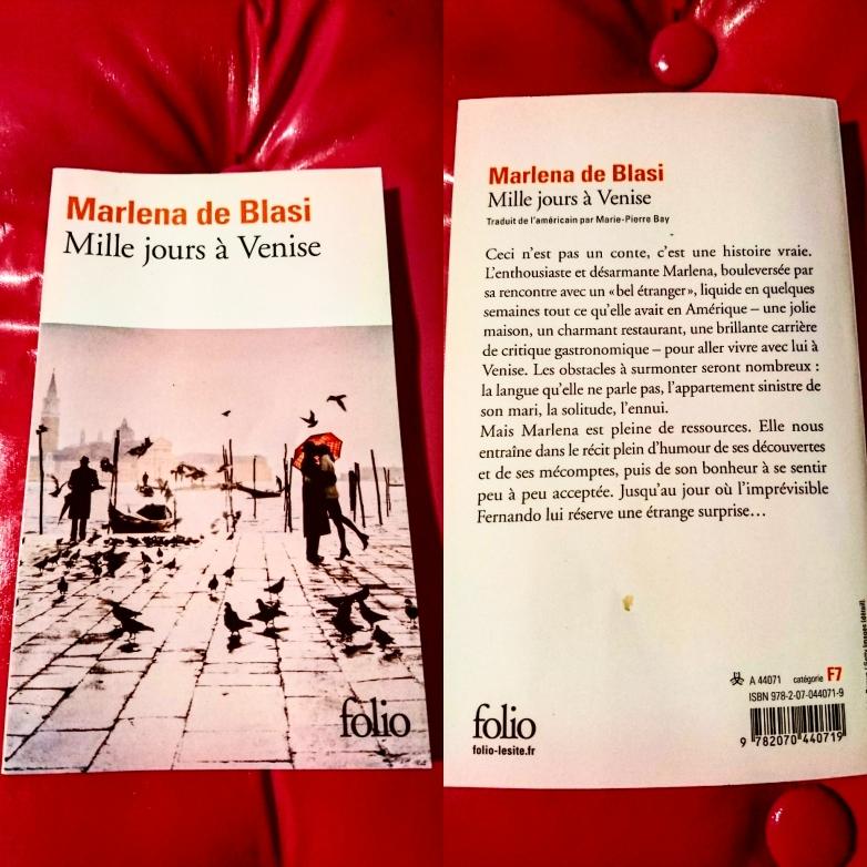 ''Mille jours à Venise'' di  Marlena de Blasi