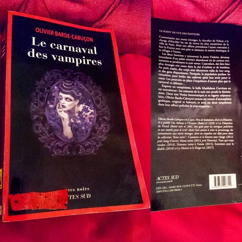 ''Le carnaval des vampires'' di Olivier Barde-Cabuçon