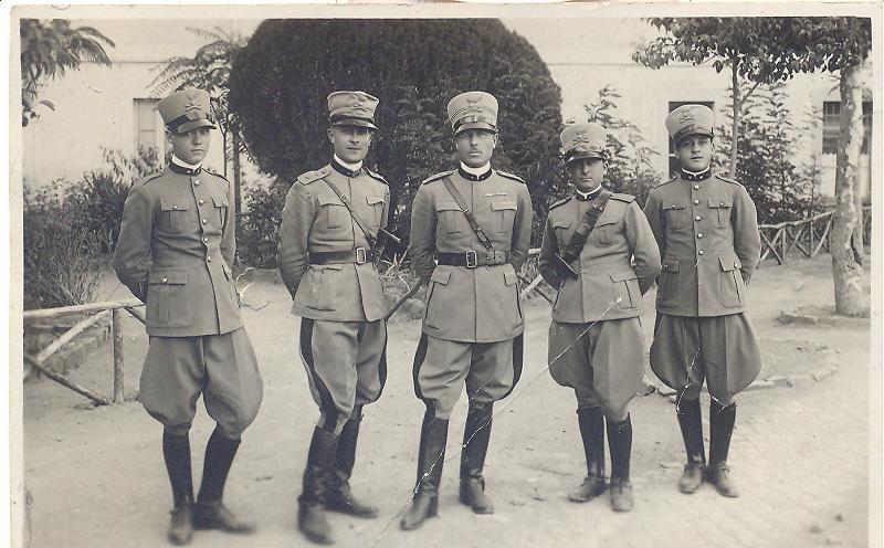 Alfredo Barbaranelli (Fabio's grandfather) in the middle