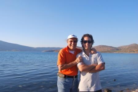 Crete 2009 father and son