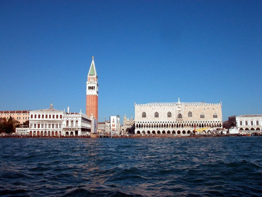 Piazza San Marco from the sea