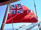 Gulet Federica Gibraltar Flag