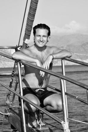 Crete 2009 - On board of  Federica