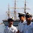 Allievi del Morosini a bordo dell' Amerigo Vespucci ogni anno
