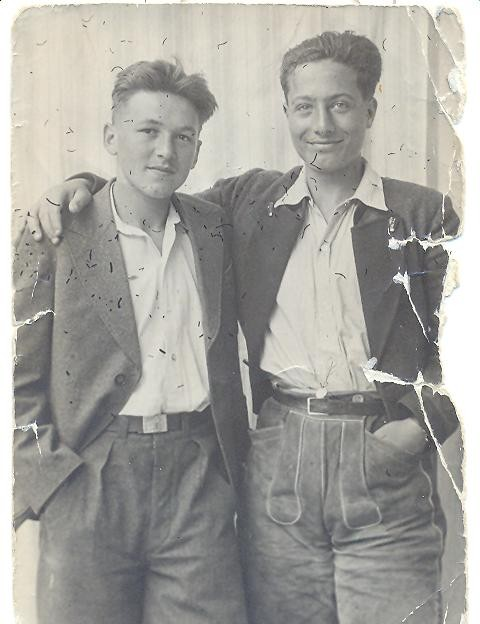 Federico Barbaranelli (Fabio's faher) on the right