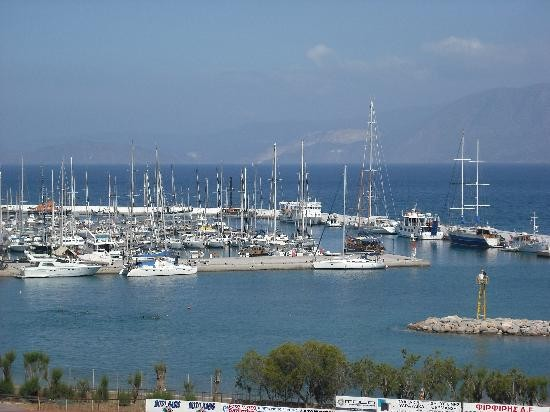 Entrance of Aghios Nikolaos Marina