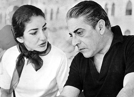 Aristotle Onassis + Maria Callas
