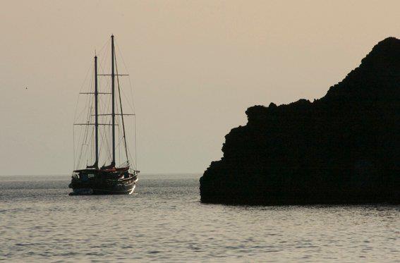 Engine test open sea