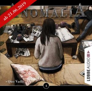 CD-Cover Anomalia Folge 4