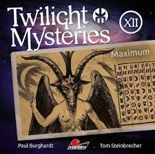 CD-Cover Twilight Mysteries Maximum