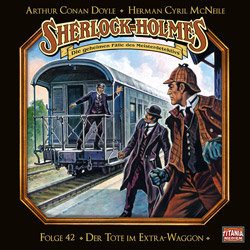 CD-Cover Sherlock Holmes Der Tote im Extra-Waggon