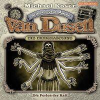 CD-Cover PROFESSOR DR. DR. DR. AUGUSTUS VAN DUSEN – DIE DENKMASCHINE 06 – Die Perlen der Kali