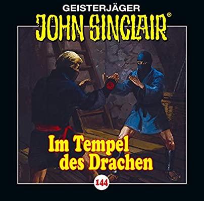 CD-Cover John Sinclair Edition 2000 - Folge 144 - Im Tempel des Drachen
