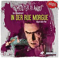 CD-Cover Meister der Angst Doppelmord in der Rue Morgue