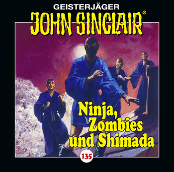 CD-Cover John Sinclair Edition 2000 - Folge 135