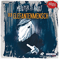 CD-Cover MEISTER DER ANGST Der Elefantenmensch