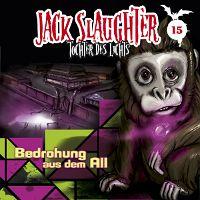 CD-Cover Jack Slaughter - Bedrohung aus dem All