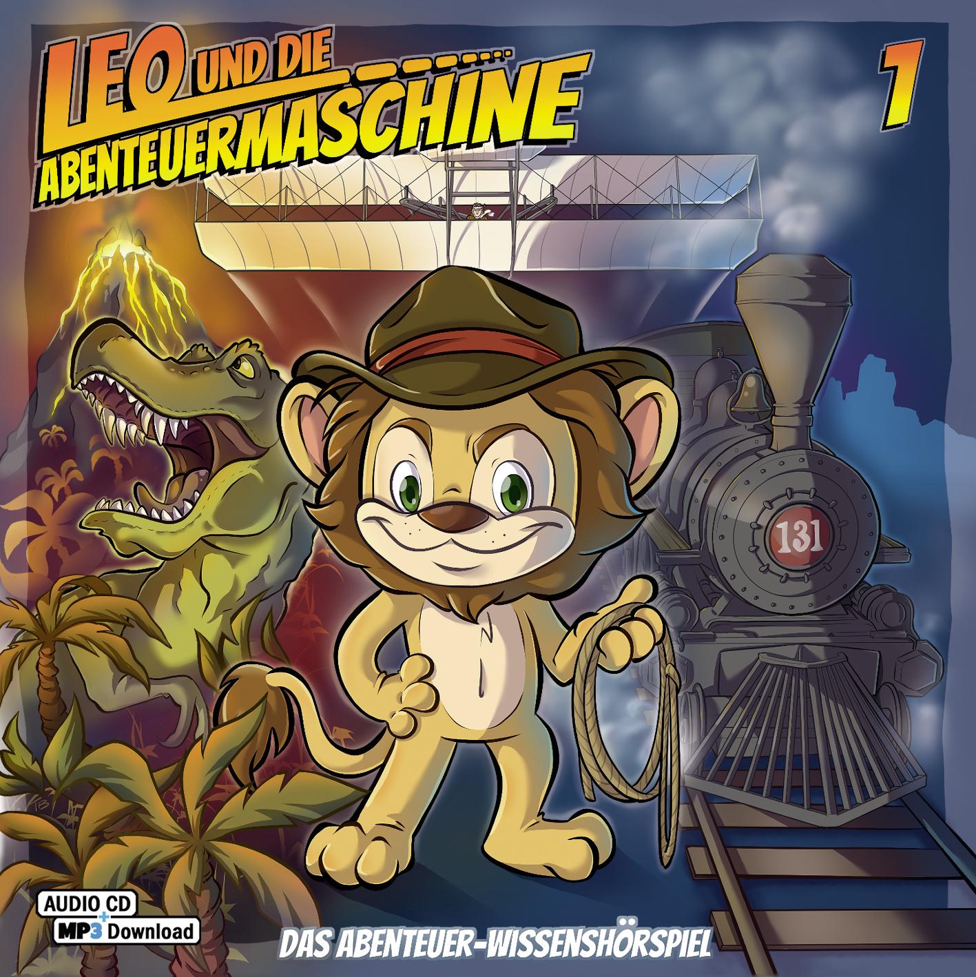 CD Cover Leo und die Abenteuermaschine 1