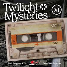 CD Cover Twilight Mysteries, Folge 11, Opus