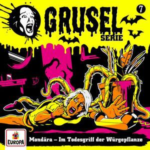 Cover Gruselserie: Mondära - Im Todesgriff der Würgepflanze