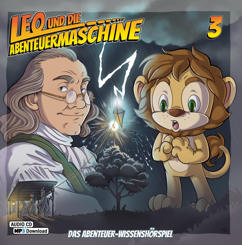 CD-Cover Leo und die Abenteuermaschine 3