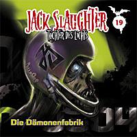 CD Cover Jack Slaughter - Die Dämonenfabrik
