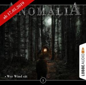 CD-Cover Anomalia Folge 3