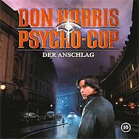 CD Cover Don Harris - Der Anschlag 10
