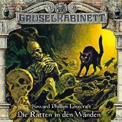 CD-Cover Gruselkabinett Folge 138 Die Ratten in den Wänden