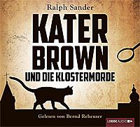 CD Cover Kater Brown und die Klostermorde