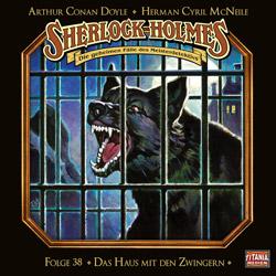 CD-Cover Sherlock Holmes Das Haus mit den Zwingern