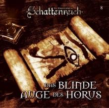 CD-Cover SCHATTENREICH - 08 – Das blinde Auge des Horus