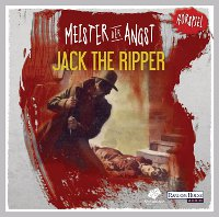 CD-Cover Meister der Angst Jack the Ripper